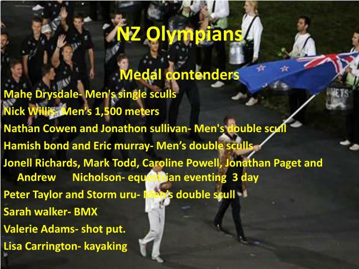 Nz olympians