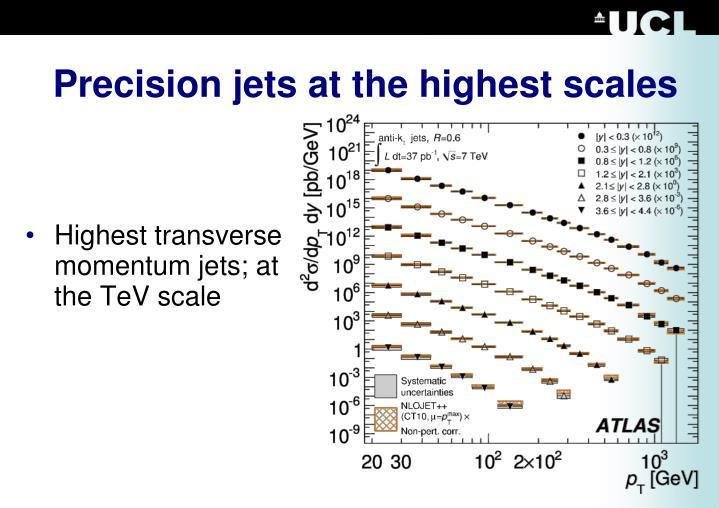 Precision jets