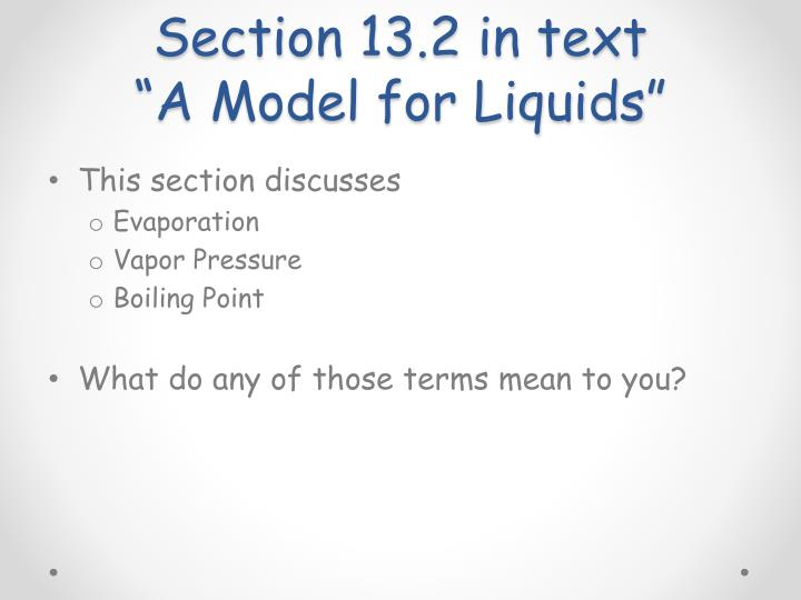 Section 13.2 in text