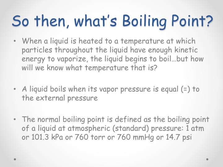 So then, what's Boiling Point?