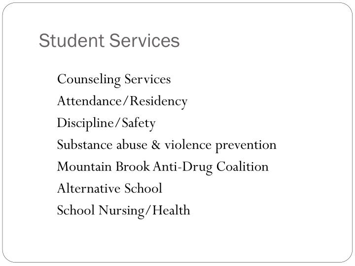 Student services1