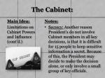 the cabinet11
