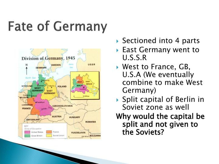 Fate of Germany