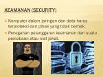 keamanan security