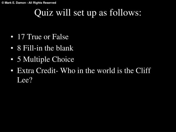 17 True or False