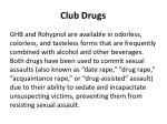 club drugs2