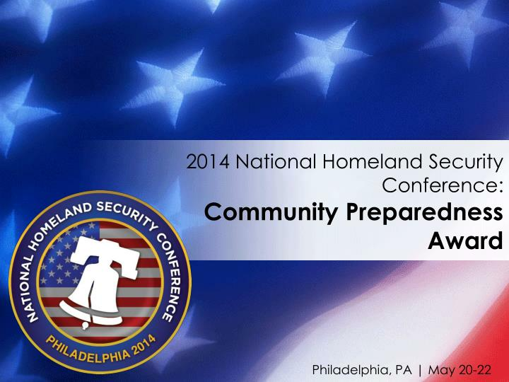 2014 National Homeland Security Conference: