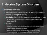 endocrine system disorders1