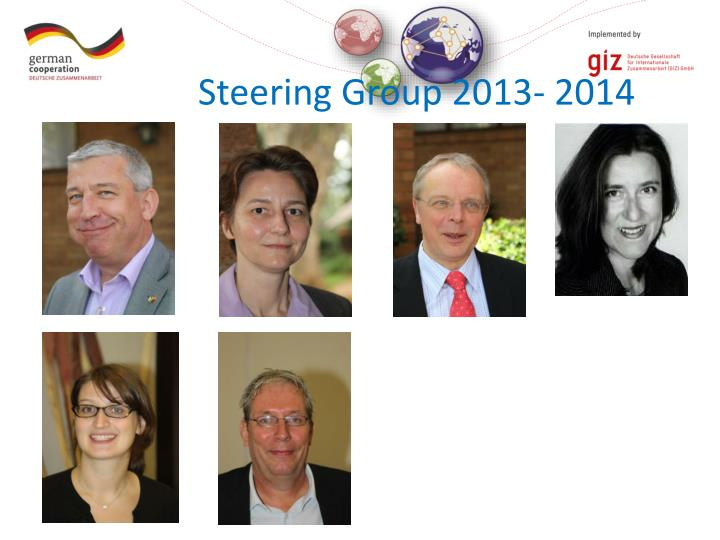 Steering Group 2013- 2014