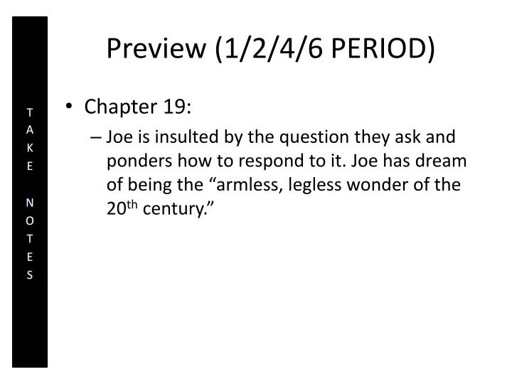 Preview (1/2/4/6 PERIOD)