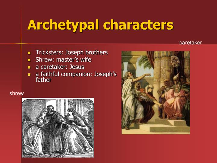 Archetypal characters