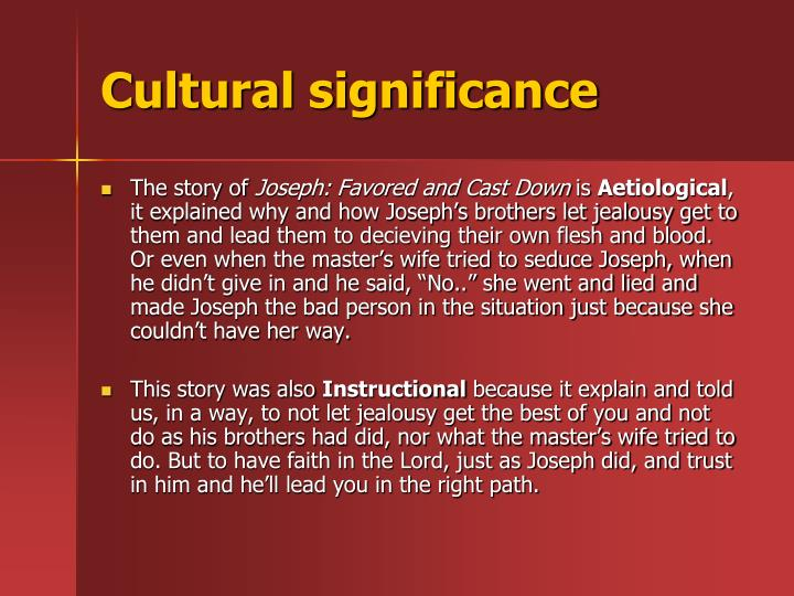 Cultural significance