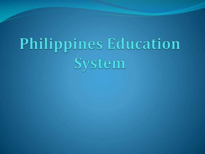 Philippines education system