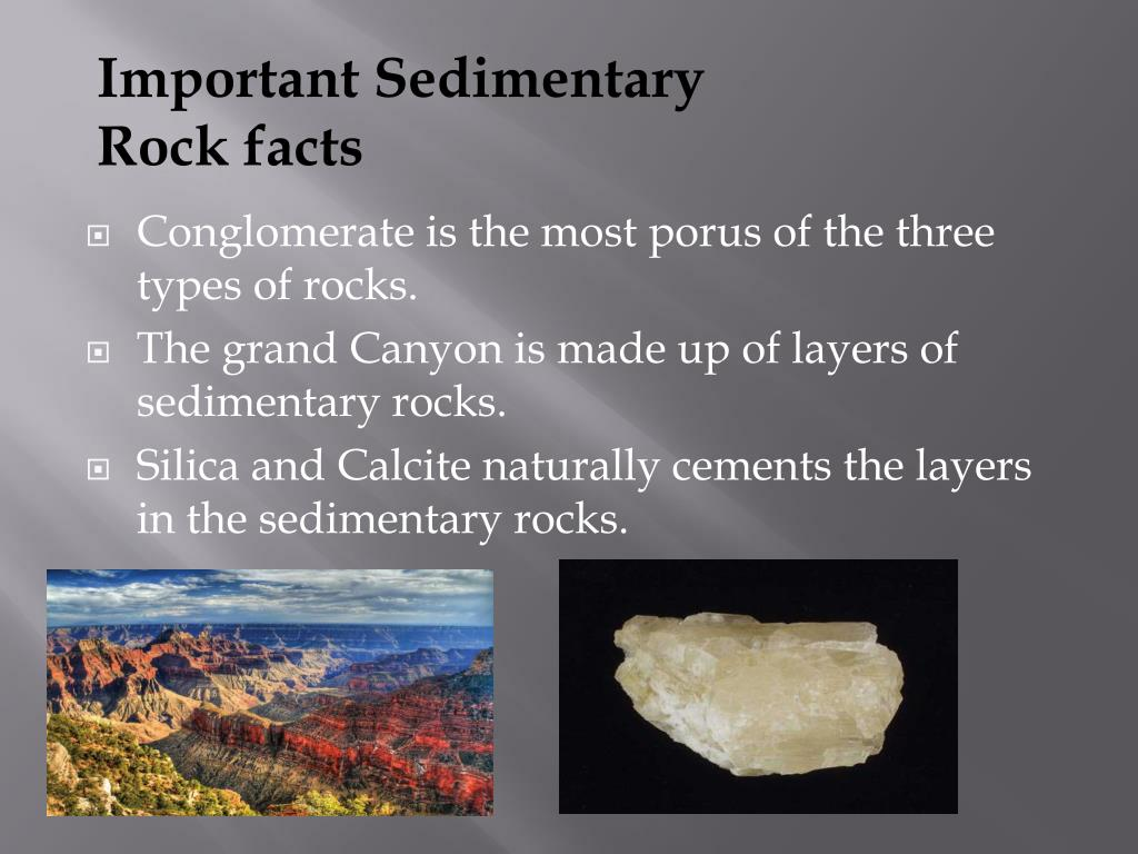 PPT - Sedimentary rocks and Formation PowerPoint