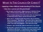 what is the church of christ8