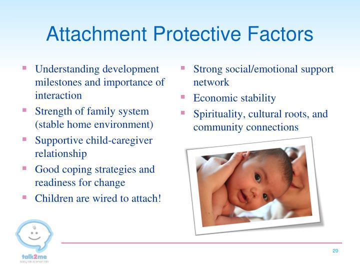 Attachment Protective Factors
