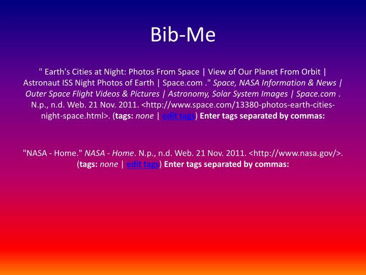 Bib-Me