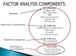 factor analysis components4