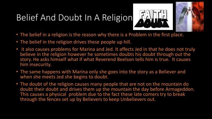 Belief And Doubt In A Religion