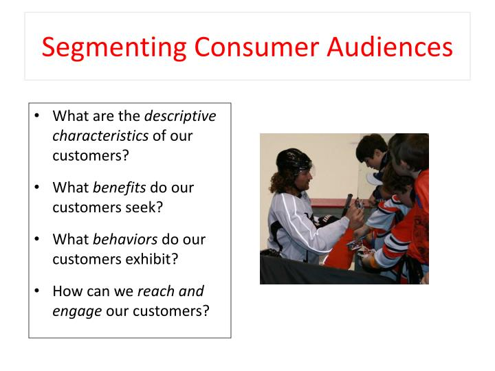 Segmenting Consumer Audiences