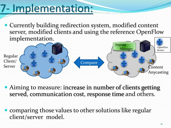 7- Implementation: