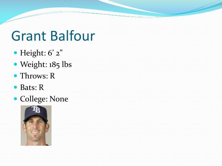 Grant Balfour
