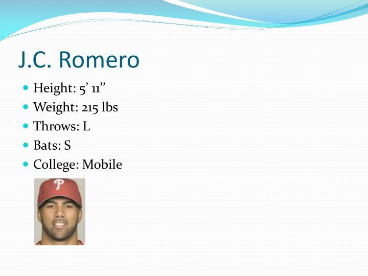 J.C. Romero