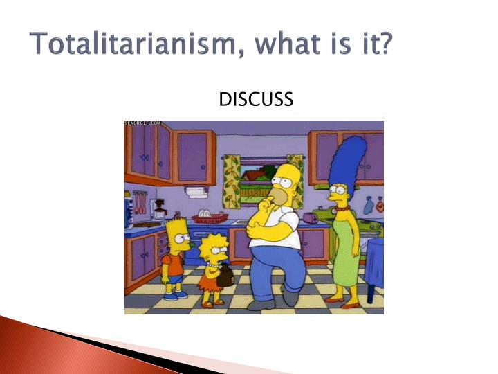 Totalitarianism what is it