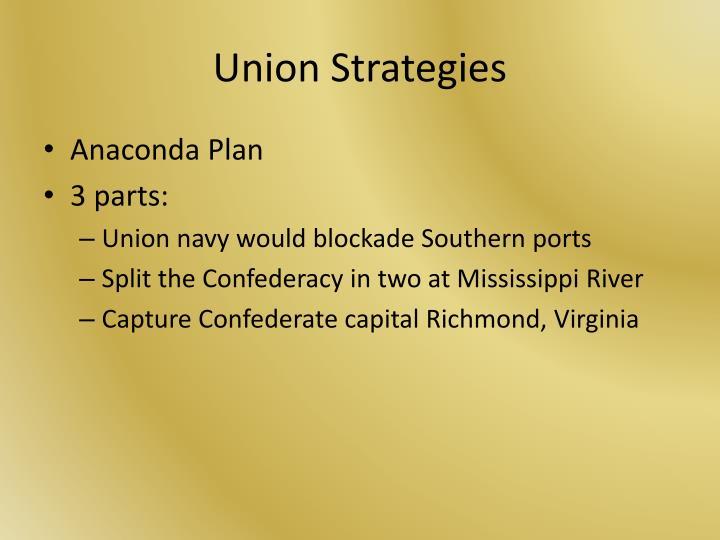Union Strategies