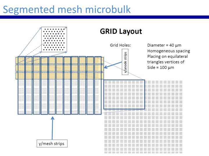 Segmented mesh