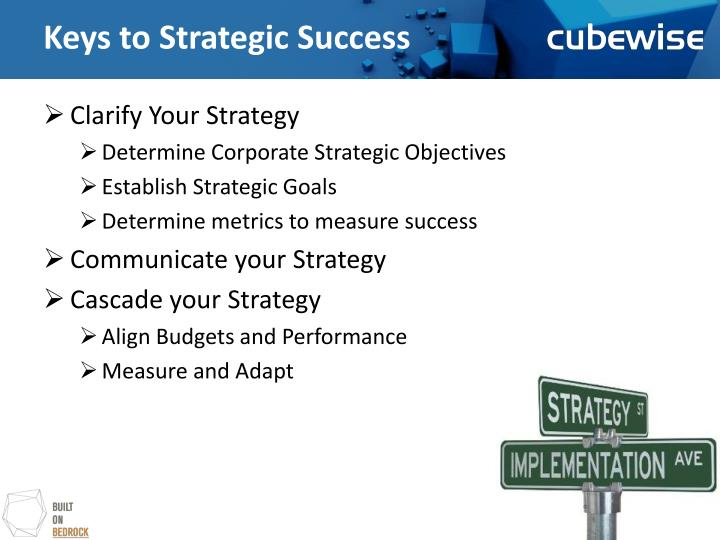 Keys to strategic success