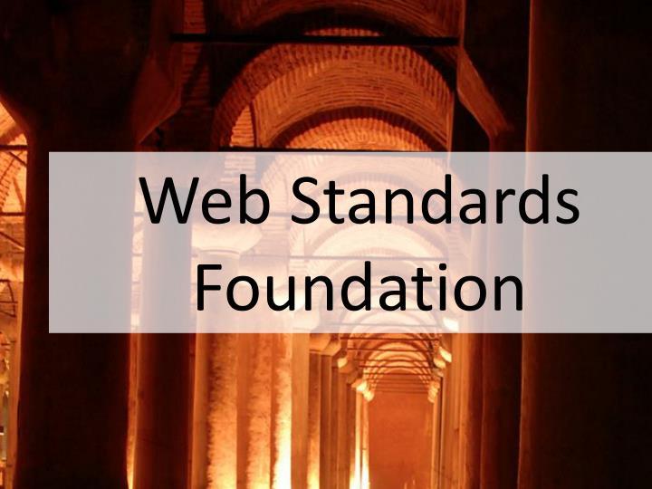 Web Standards Foundation