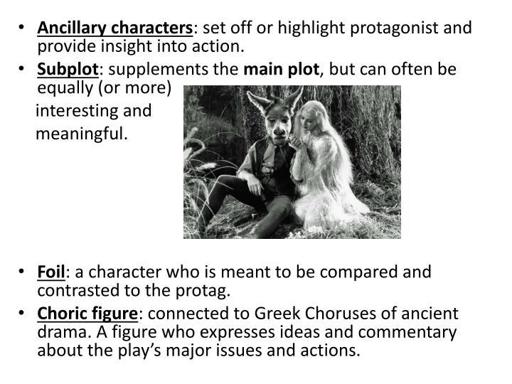 Ancillary characters