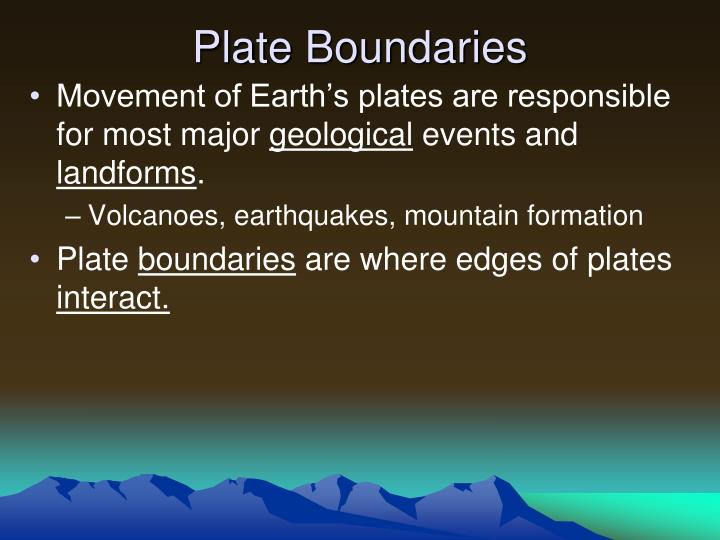 Ppt Forces That Shape The Earth Powerpoint Presentation