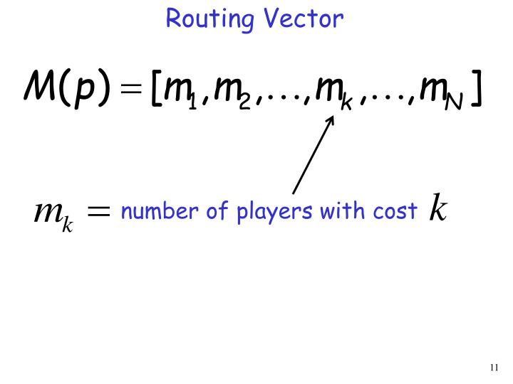 Routing Vector