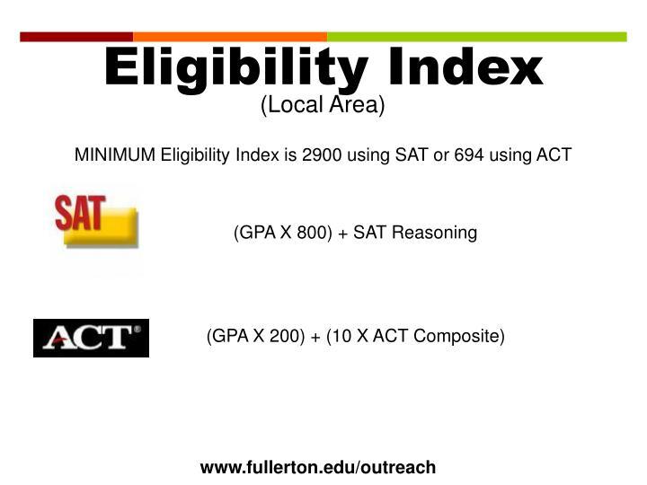 Eligibility Index