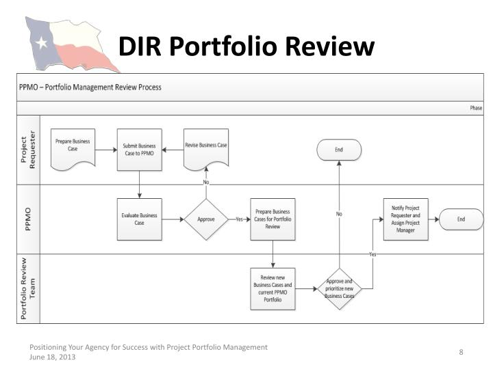 DIR Portfolio Review