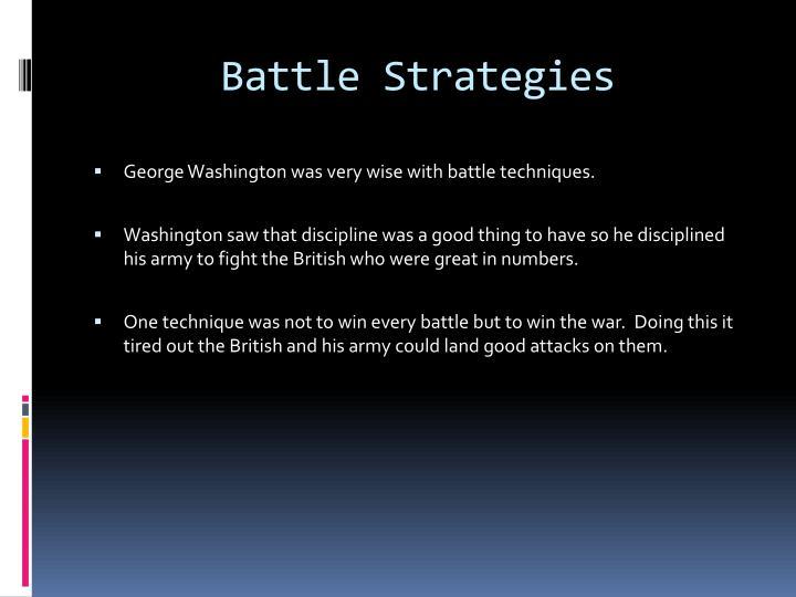 Battle Strategies