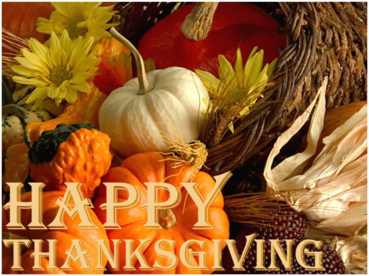 On the fourth thursday in november the americans celebrate the holiday called thanksgiving