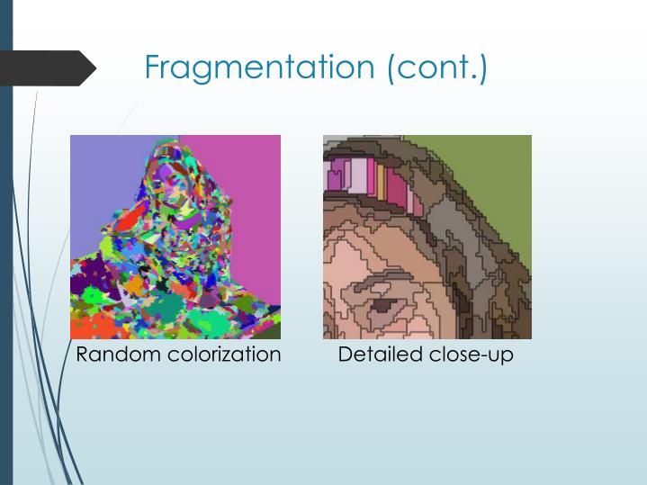 Fragmentation (cont.)