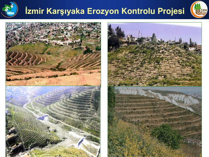 İzmir Karşıyaka Erozyon