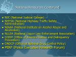 national resources continued1