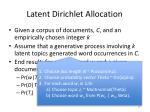 latent dirichlet allocation1