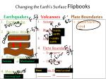 changing the earth s surface flipbooks