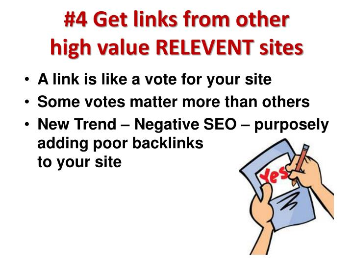 #4 Get links from other