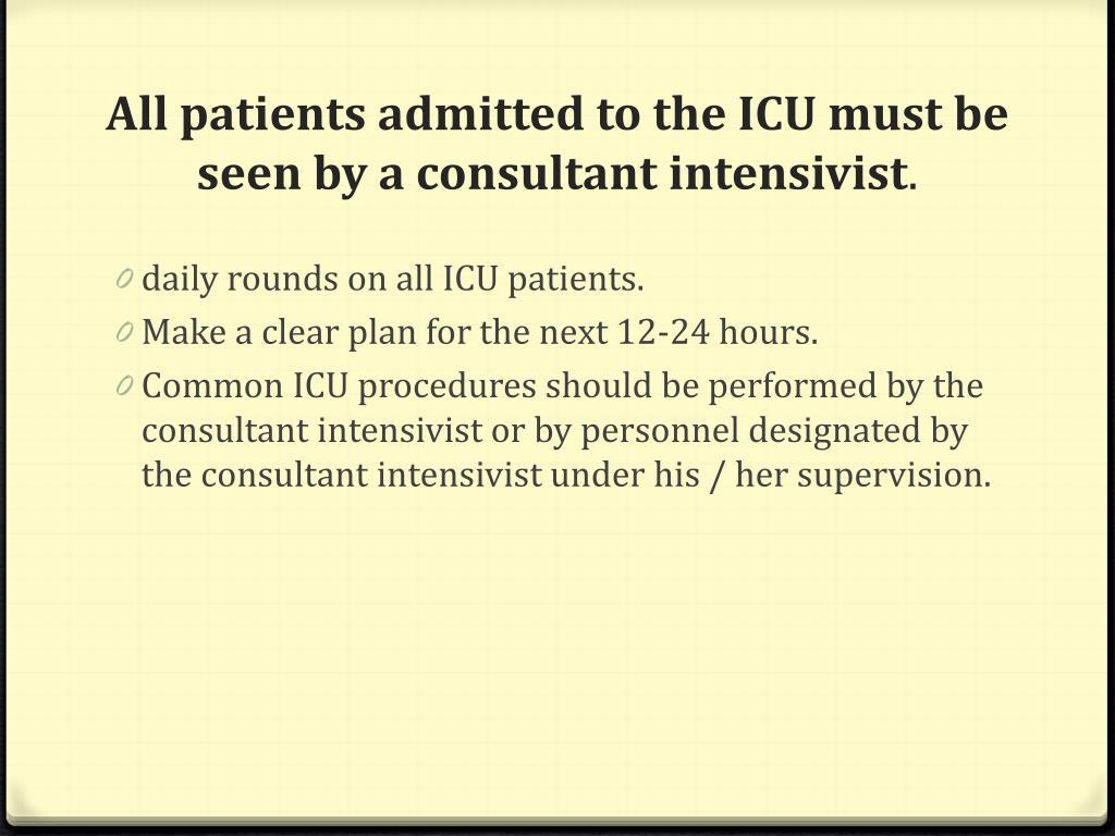 PPT - ICU PROTOCOLS PowerPoint Presentation - ID:2641025
