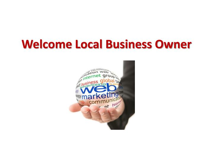 welcome local business owner n.