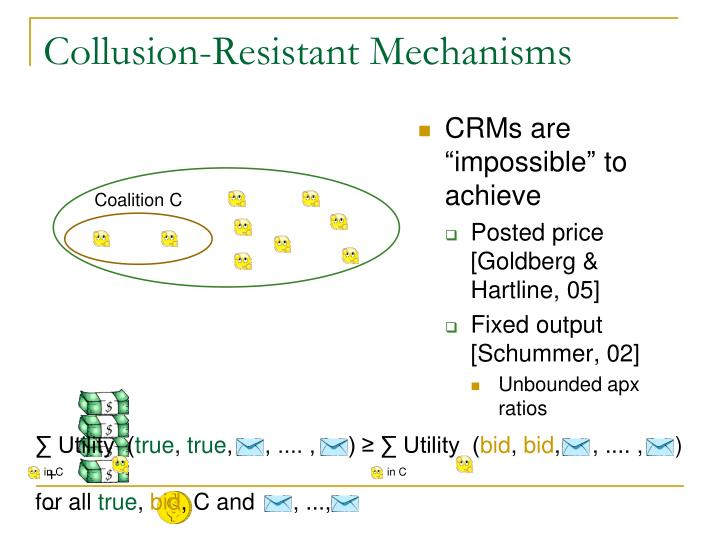 Collusion-Resistant Mechanisms