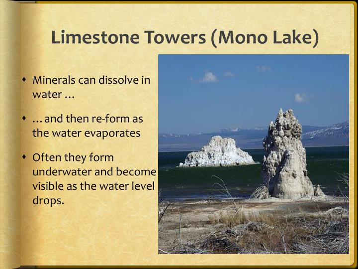 Limestone Towers (Mono Lake)