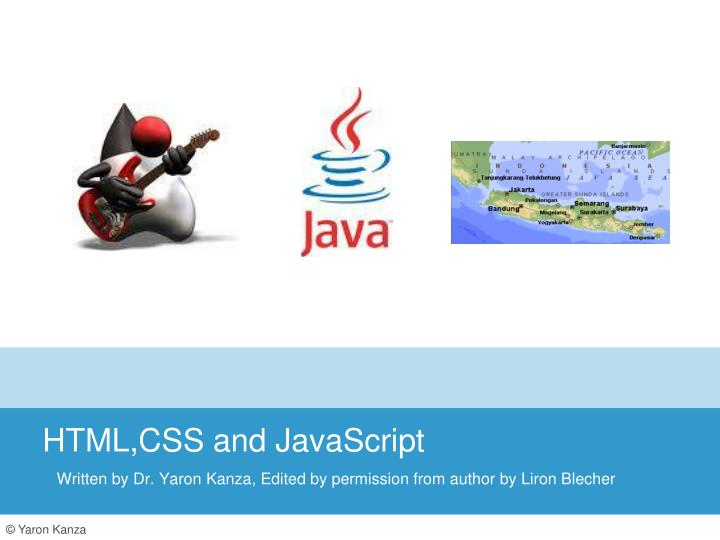 html css and javascript n.
